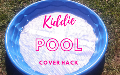 Super Easy Naptime DIY Kiddie Pool Hack