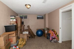 The before photo of the Whimsy room.